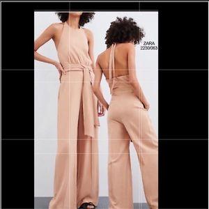 Zara long medium rustic jumpsuit NWT